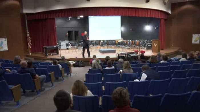Community meeting on schools report