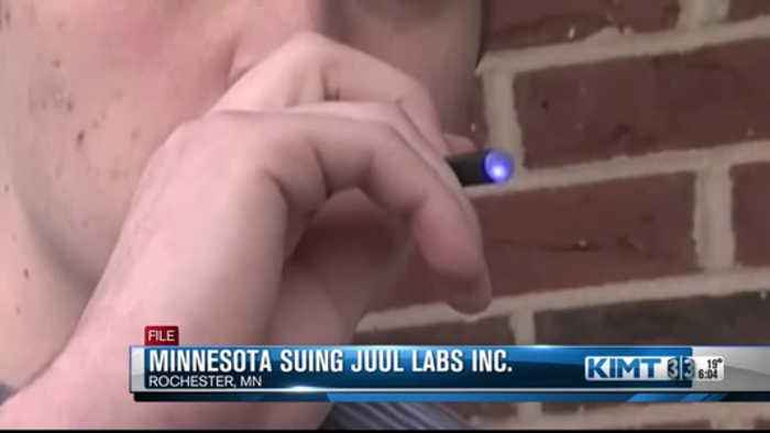 State of Minnesota suing E-Cigarette company