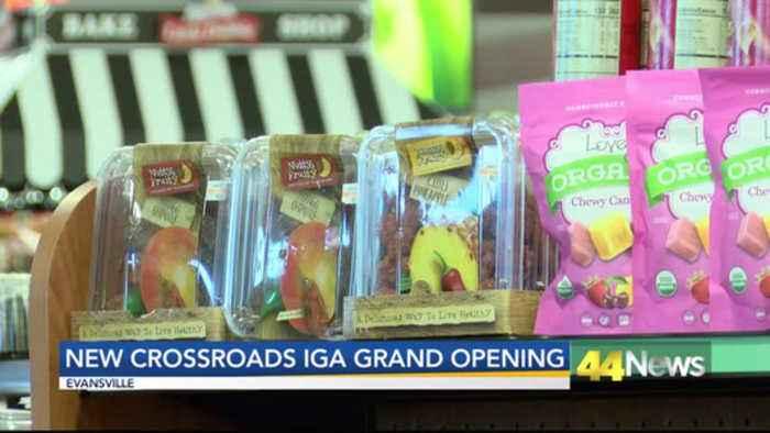 Crossroads IGA location open