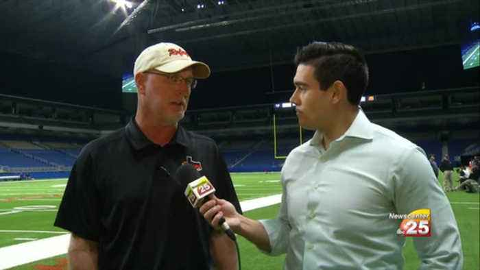 Refugio Football Head Coach Joins Newscenter 25 Sports Live