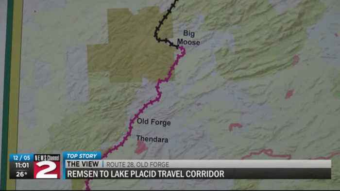 Public Meeting held in Old Forge Thursday over Proposed Project to replace railroad tracks with a re