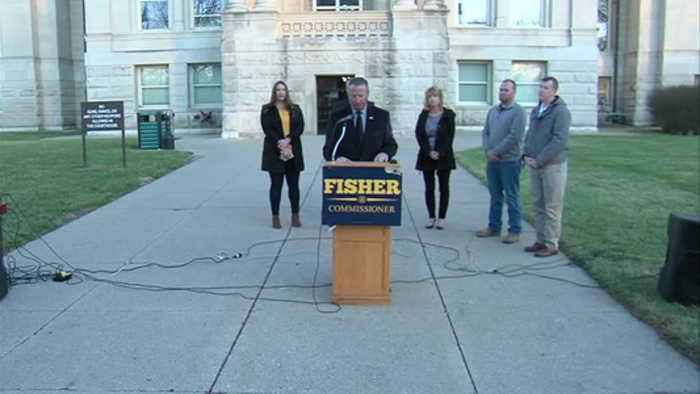 Terre Haute Fire Chief Jeff Fisher says he will run for Vigo County Commissioner