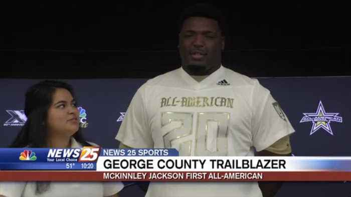 """I Want to be a Tradition:"" McKinnley Jackson leaving All-American legacy at George County"