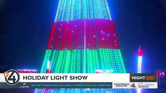 Post Falls man programs 50,000-bulb light display for the holidays