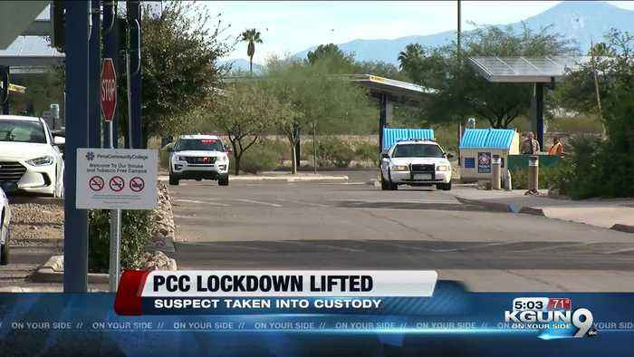 Lockdown lifted at Pima Community College Desert Vista campus after search for armed suspect