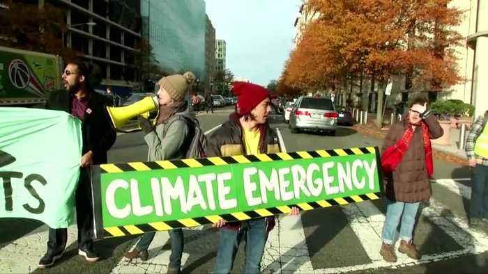 Record glacial melt in Alaska, climate activists demand action