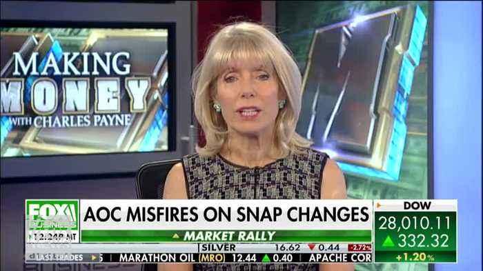 Charles Payne: Tweet By AOC On Trump's Food Stamp Plan Is 'Just Not True'