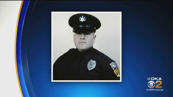 People Gather To Remember Fallen Penn Hills Police Officer