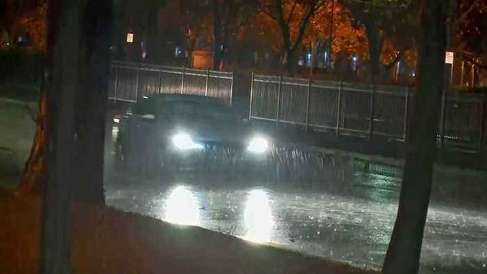 Wet, Blustery Storm Slams Bay Area