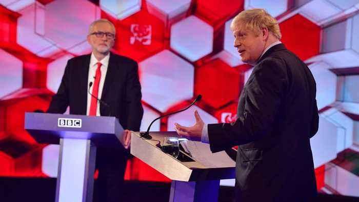 Johnson and Corbyn clash in final UK election debate