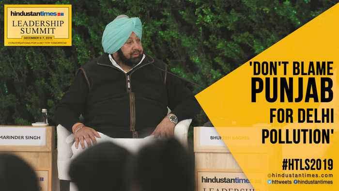 'Punjab not to blame for Delhi pollution': Amarinder Singh at #HTLS2019