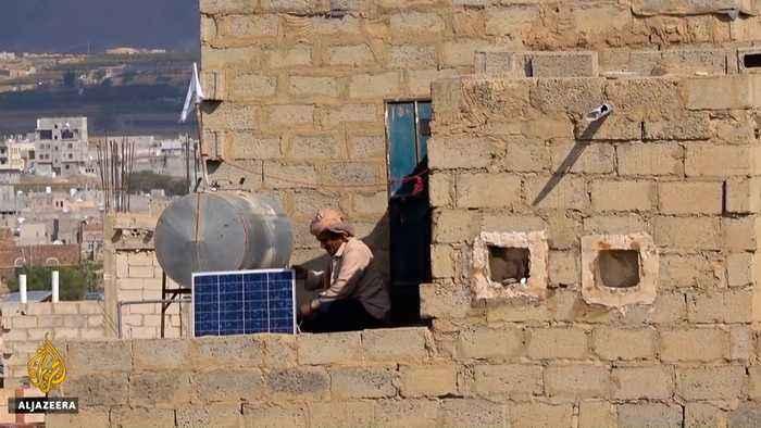 People in Yemen go solar amid fuel shortages