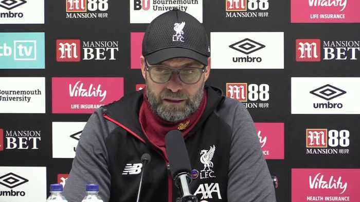 Jurgen Klopp reflects on 'super performance' as Liverpool continue title march