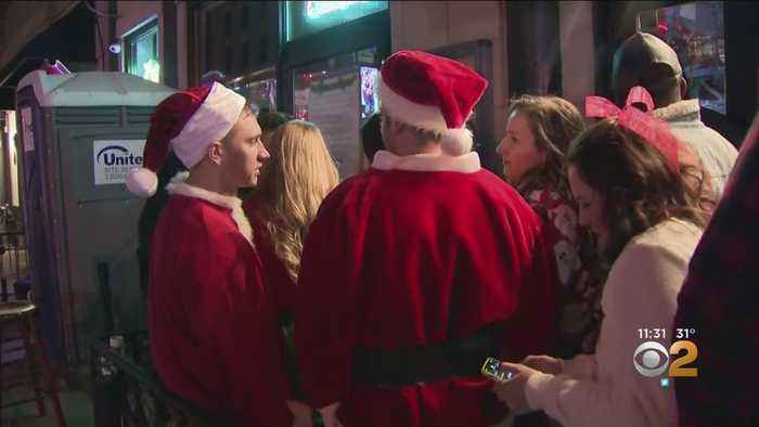 Hoboken's SantaCon Sees 4 Arrested, 50 Get Summonses