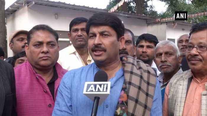 Manoj Tiwari slams Rahul Gandhi calls him mentally disturbed