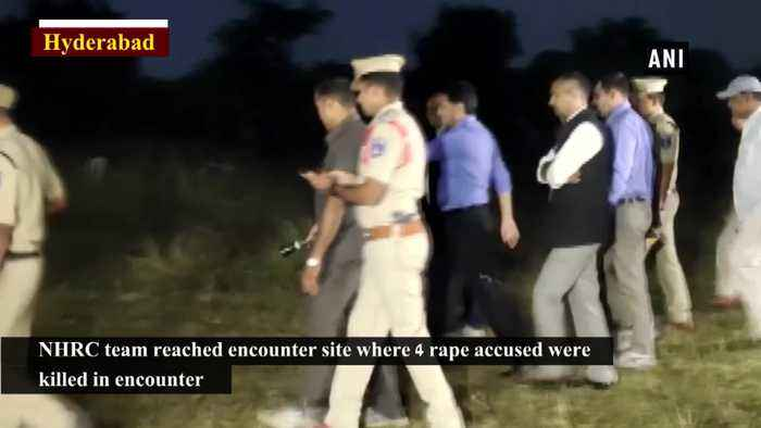 NHRC team reaches Telangana encounter site for investigation