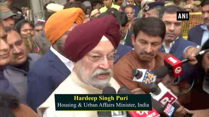 Need to develop illegal, unauthorized colonies Hardeep Singh Puri on Delhi fire