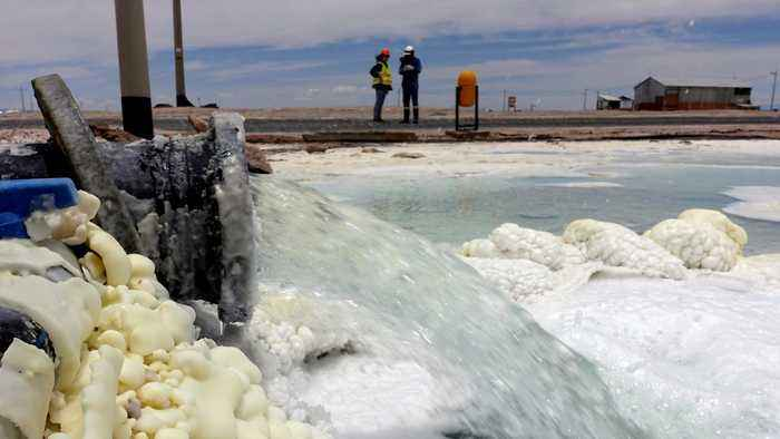 Bolivia lithium: Industry business hit by political crisis