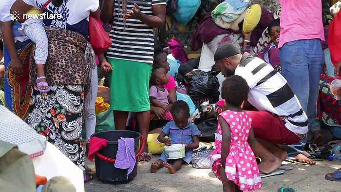 'No more xenophobia!': Refugees protest against their removal from Cape Town church