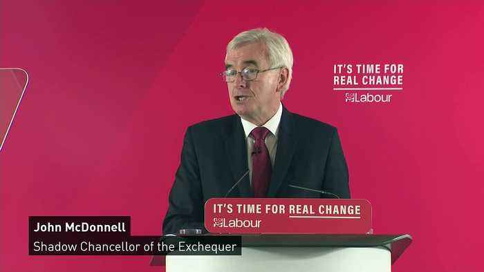 McDonnell: Nationalisation of water and energy top priority