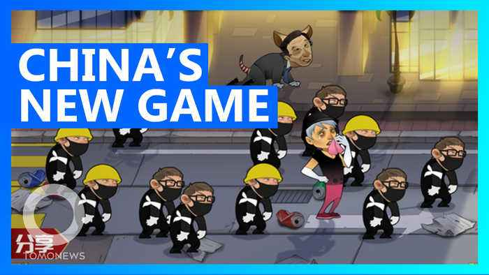 China makes propaganda game that lets you hit HK protesters