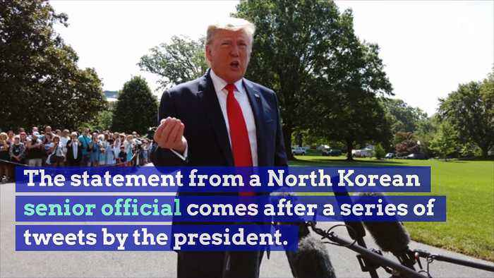 Trump Labeled an 'Erratic Old Man' by North Korea