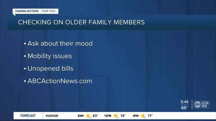 Keeping an eye on older loved ones during the holidays