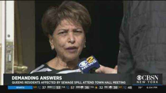 Town Hall Held On Queens Sewage Floods