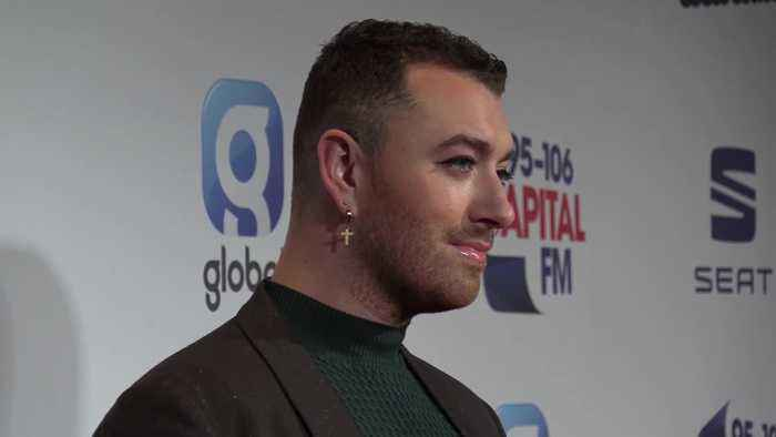 Sam Smith and other stars attend Capital's Jingle Bell Ball