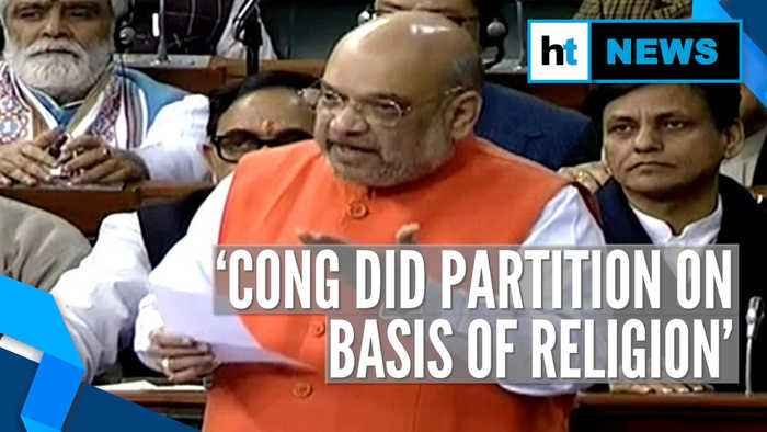Citizenship Amendment Bill: Amit Shah cites partition, targets Congress in LS