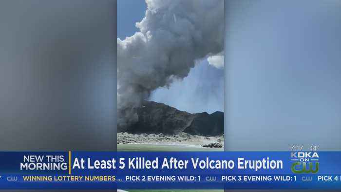 At Least Five Killed In Volcanic Eruption