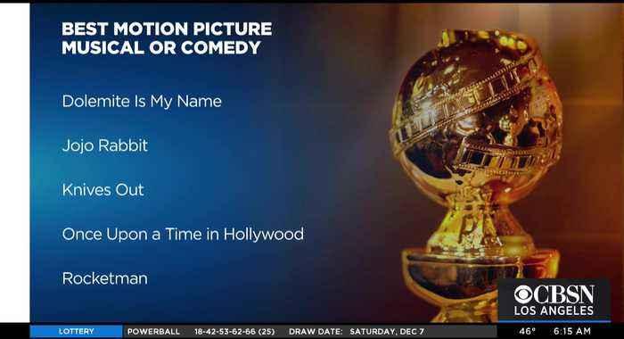 Netflix Dominates Best Film Categories