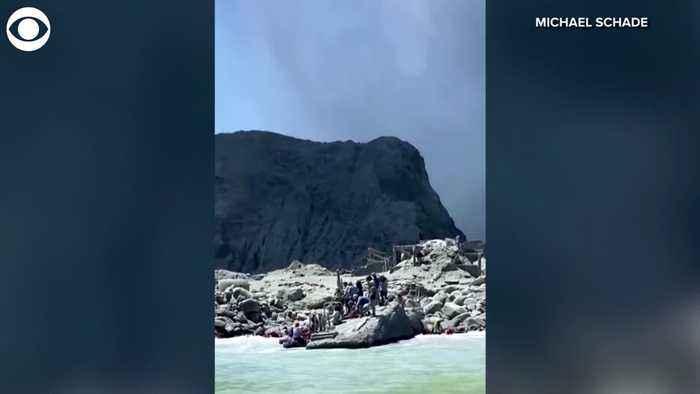 WEB EXTRA: New Zealand Volcano Erupts