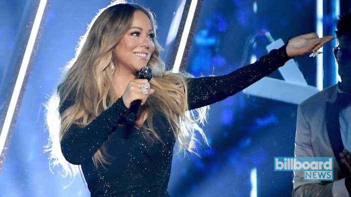 Jonas Brothers' 'Like It's Christmas' & Mariah Carey's 'Merry Christmas' Make Waves on the Charts | Billboard News