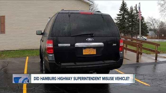 Did Hamburg official misuse vehicle?