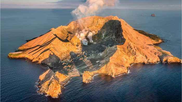 New Zealand volcano kills 5, injures dozens