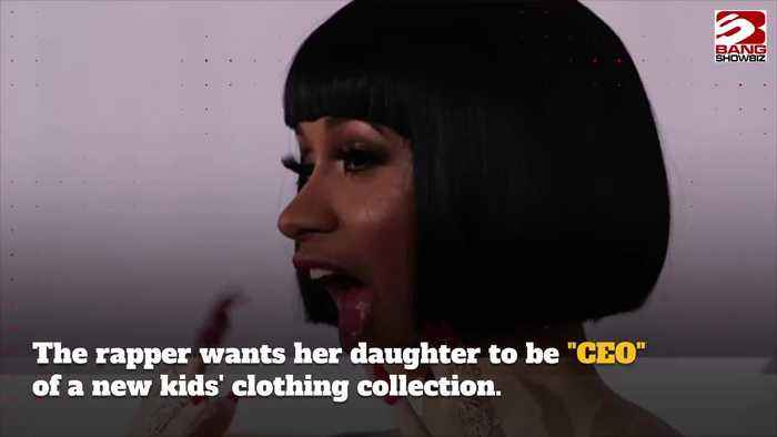 Cardi B wants her one-year-old daughter to be CEO of kids' clothing collection
