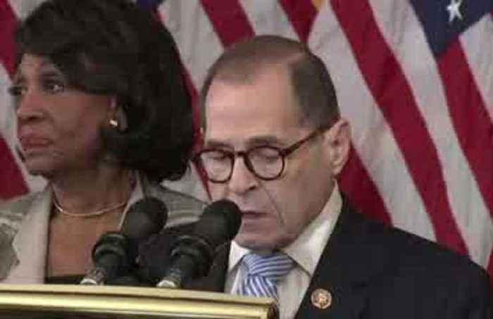 Democrats announce impeachment charges against Trump