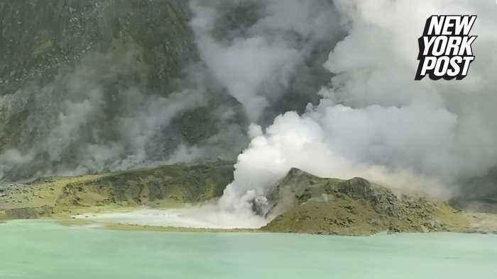 New Zealand volcano violently spewed rocks days before blast