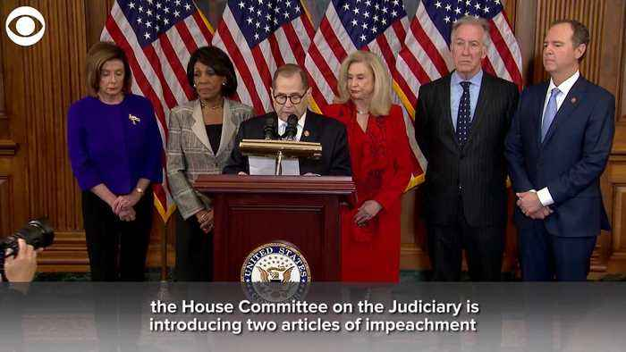 WEB EXTRA: House Democrats Announce Two Articles Of Impeachment