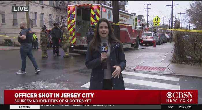 Jersey City Shooting: Bystanders Kept Indoors As Police Lock Down Firefight Zone