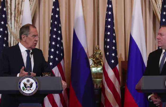Pompeo says discussed election interference in Lavrov meeting