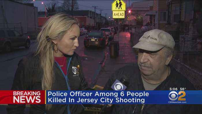 Residents React To Jersey City Shootout