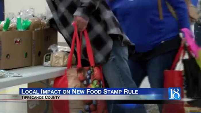 Tippecanoe County community resource leaders react to Trump Administration's new food stamp rule