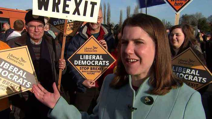 Swinson optimistic Lib Dems can 'cause some upsets'