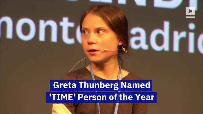 Greta Thunberg Named 'TIME' Person of the Year