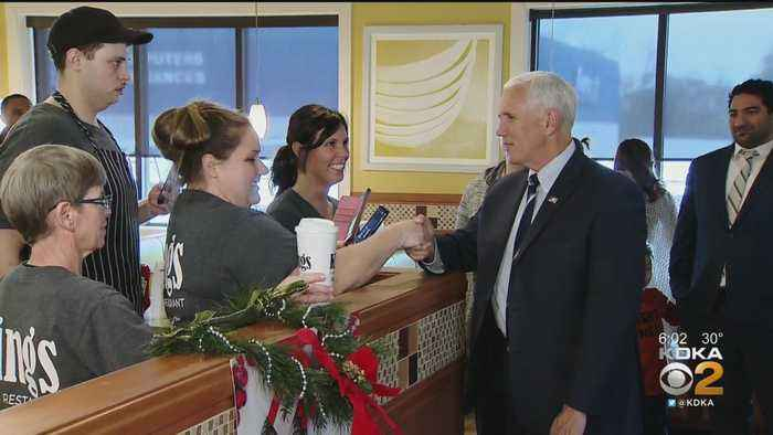 Vice President Mike Pence Stops In Beaver County