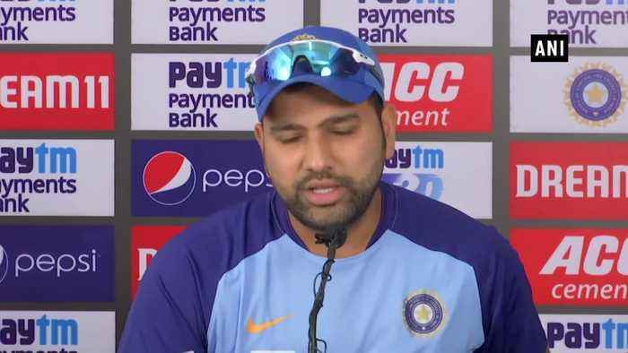 World Cup is a long way need to focus on winning series Rohit Sharma