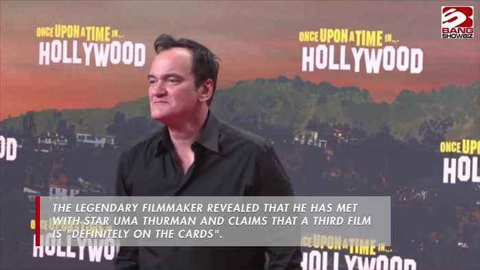 Quentin Tarantino hints at Kill Bill 3