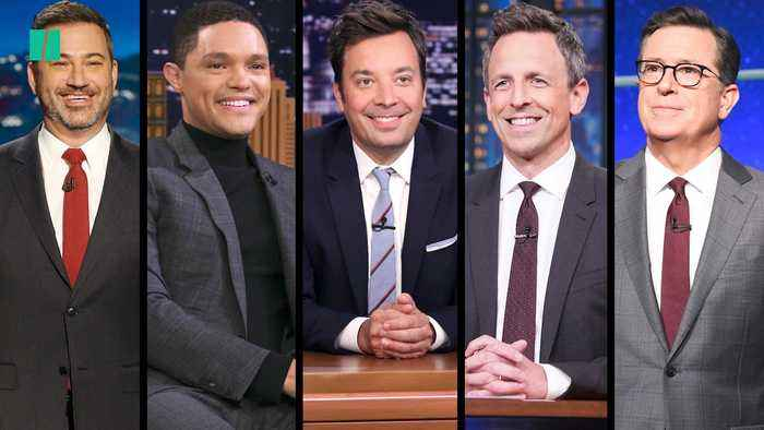Late Night Hosts Laugh About Impeachment